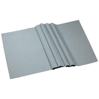Textil Uni TREND Laeufer blue fox 77 50x140cm