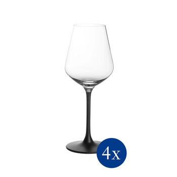 Manufacture Rock Rotweinglas, 4 Stück, 470 ml