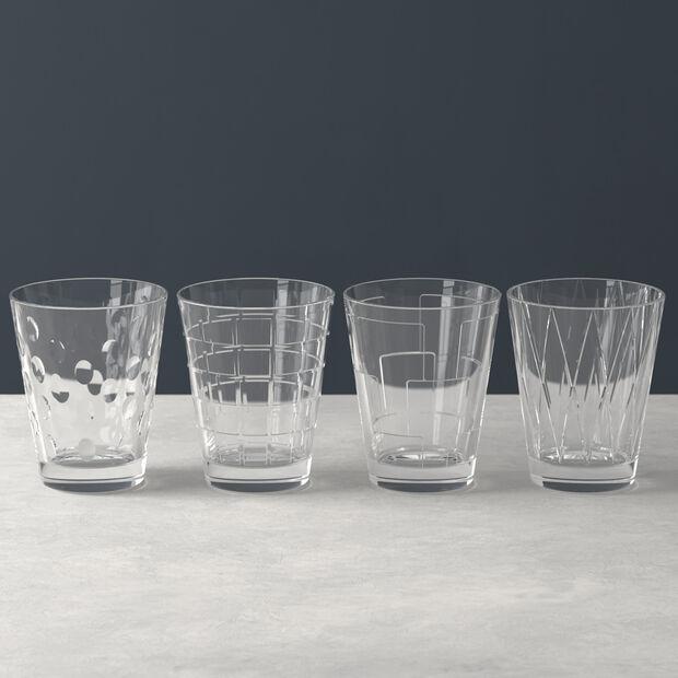 Dressed Up Wasserglas-Set Clear 4-teilig, , large