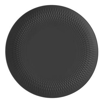 Manufacture Collier Schale, schwarz