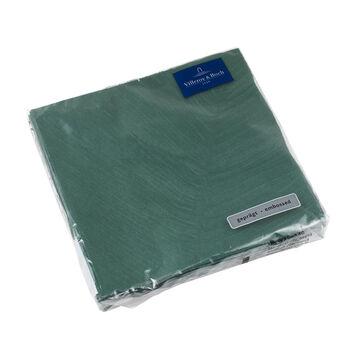 like. by Villeroy & Boch Papier Servietten it's my match green leaf Lunch, 33 x 33 cm, 20 Stück