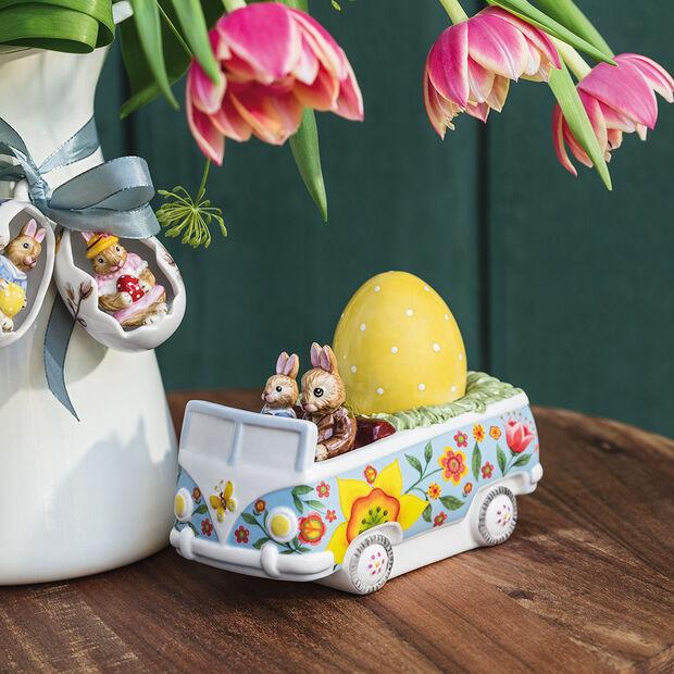 Bunny Tales Figur Bus, bunt, , large
