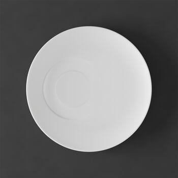 MetroChic blanc Kaffeeuntertasse 18,5x18,5x2cm
