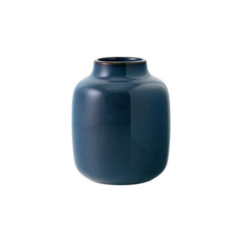 Lave Home Vase Shoulder, 12,5x12,5x15,5cm, Bleu uni