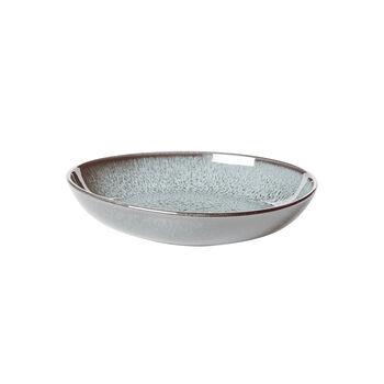 Lave Glacé kleine flache Schale, türkis, 22 x 21 x 4,2 cm