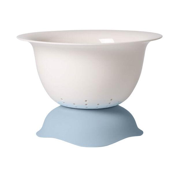 Clever Cooking blaue Sieb-/Servierschüssel, , large