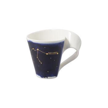 NewWave Stars Becher Wassermann, 300 ml, Blau/Weiß