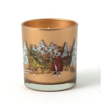 Winter Specials Votive Nikolaus mit Schlitten, 7,5 x 9,5 cm