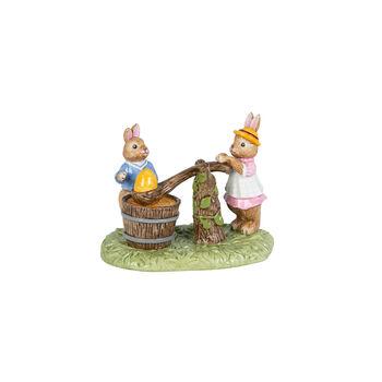 Bunny Tales Figur Eierfärben, bunt
