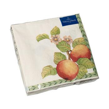 Papier Servietten French Garden Modern Fruits, 33 x 33 cm, 20 Stück