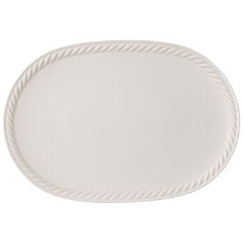 Montauk ovale Platte