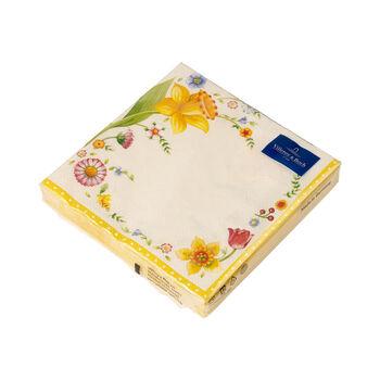 Oster Accessoires Spring Fantasy Serviette Osterblume,  33 x 33 cm, 20 Stück