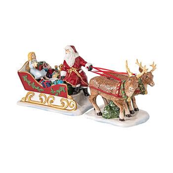 Christmas Toys Schlitten Nostalgie, 36 x 14 x 17 cm