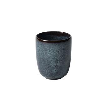 Lave gris Becher ohne Henkel 9x9x10,5cm