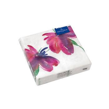 Papier Servietten Artesano Flower Art Cocktail,  25 x 25 cm, 20 Stück