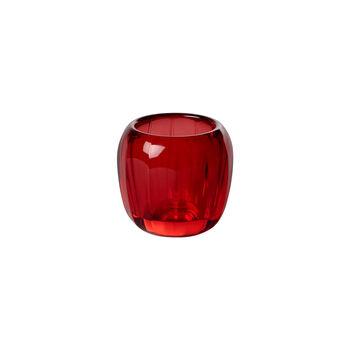 Coloured DeLight Teelichthalter klein Deep Red 70mm