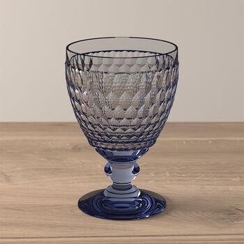 Boston Coloured Wasserglas Blue