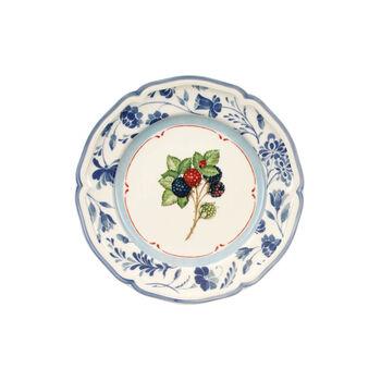 Cottage Frühstücksteller Brombeerblau