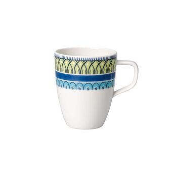Casale Blu Carla  Kaffeebecher mit Henkel