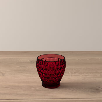 Boston Coloured Shot-Glas Red