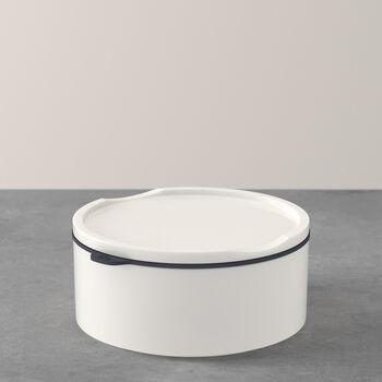 ToGo&ToStay Lunchbox, 13x6cm, rund, weiß