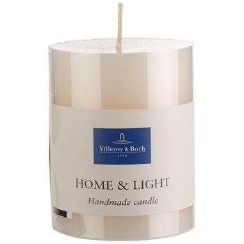 Essentials Kerzen Elfenbein Pillar 9cm