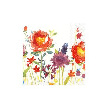 Papier Servietten Anmut Flowers,  33 x 33cm, 20 Stück