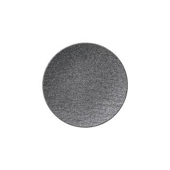 Manufacture Rock Granit Brotteller, 15,5 cm, Grau