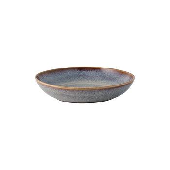 Lave Beige kleine flache Schale, beige, 22 x 21 x 4,2 cm