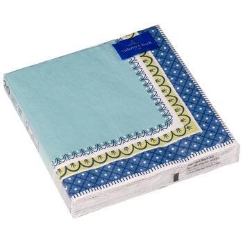 Papier Servietten Casale blu Papierserviette, 33 x 33 cm, 20 Stück