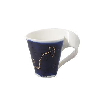 NewWave Stars Becher Skorpion, 300 ml, Blau/Weiß