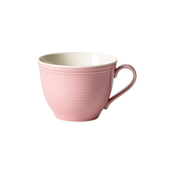 Color Loop Rose Kaffeeobertasse 12x9x7cm