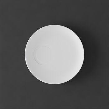 MetroChic blanc Mokka-/Espressountertasse 14,5x14,5x1,5cm