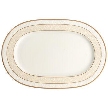 Ivoire Platte oval 35cm