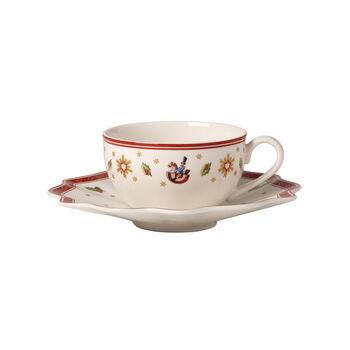 Toy's Delight Kaffee-/Teetasse mit Untert. weiss 2tlg.
