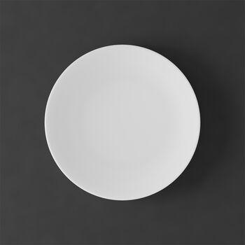 MetroChic blanc Dessert-/Frühstücksteller 22x22x2cm