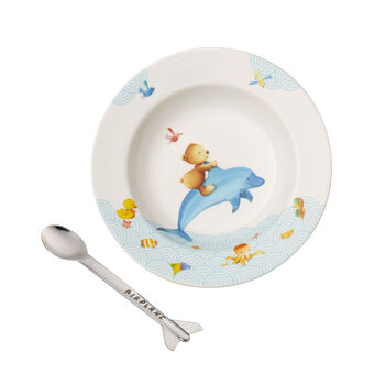 Happy as a Bear Kinder Essen-Set, 2tlg