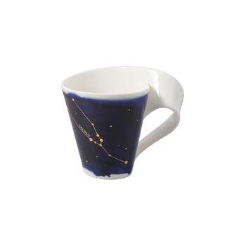 NewWave Stars Becher Stier, 300 ml, Blau/Weiß