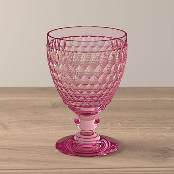 Boston Coloured Wasserglas Rose