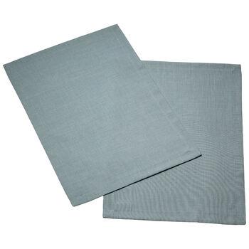 Textil Uni TREND Platzset blue fox Set 2 35x50cm