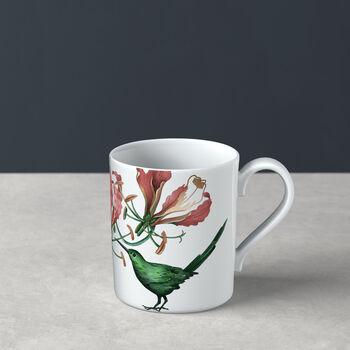 Avarua Kaffeebecher, 300ml, weiß/bunt