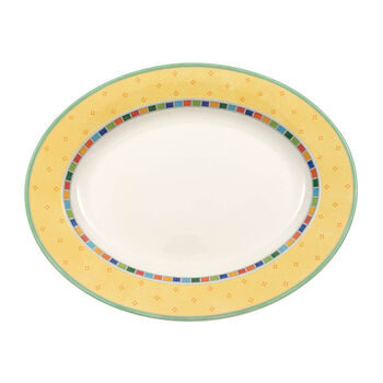 Twist Alea Limone ovale Platte 34 cm