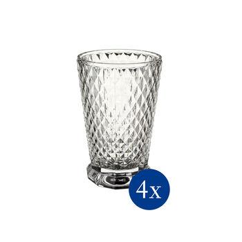 Boston Flare Wasserglas, 4 Stück