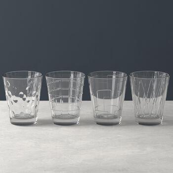 Dressed Up Wasserglas-Set Smoke 4-teilig