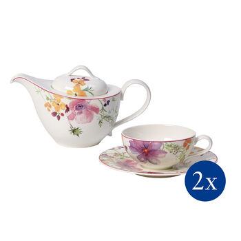 Mariefleur Tea Tee-Set, 5-teilig, für 2 Personen