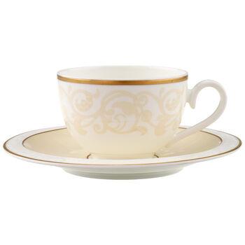 Ivoire Kaffee-/ Teetasse mit Untertasse 2-tlg.