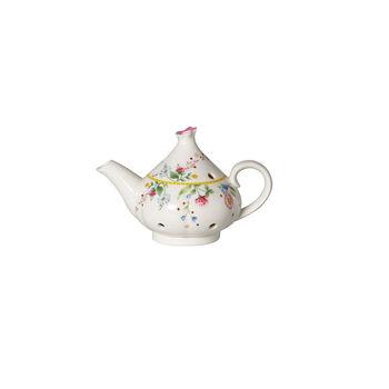 Spring Awakening Teelichthalter, Kanne, gelb/bunt