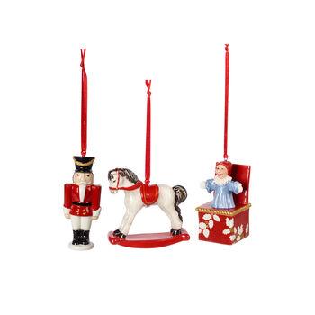 Nostalgic Ornaments Ornamente Spielzeuge Set 3tlg. 9,5cm