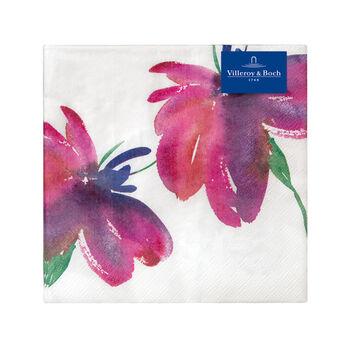 Papier Servietten Artesano Flower Art, 33 x 33 cm, 20 Stück