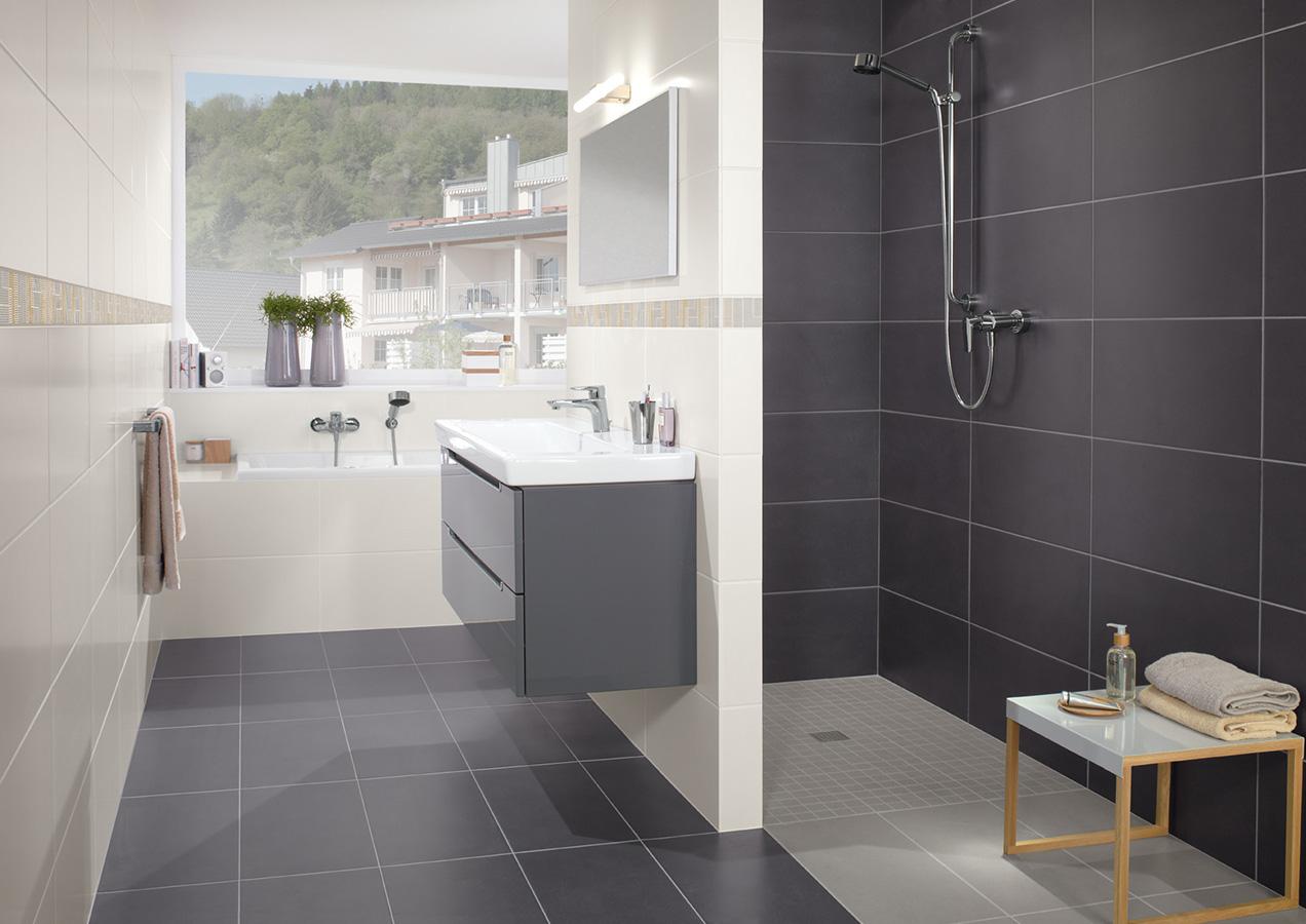 Kleines Bad Grosse Dusche : Bad mit Dachschr?ge clever nutzen – Villeroy & Boch